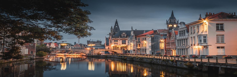 Belgium's Most Romantic Cities Ghent Hero